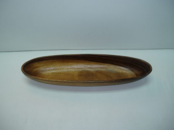 Oval Wooden Sauce Bowl (Medium)-0