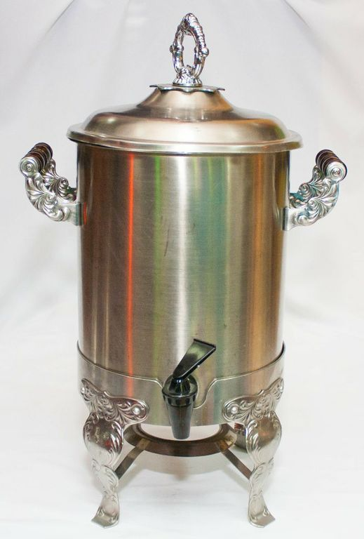 Fancy Silver Tea Urn