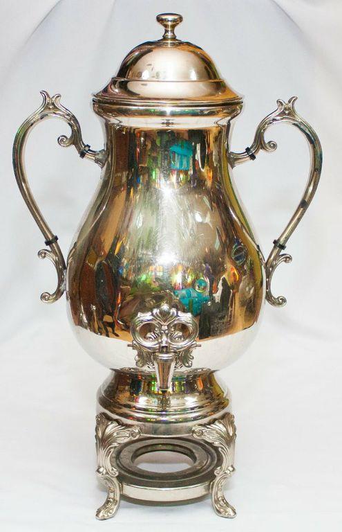 Grand Silver Tea Urn