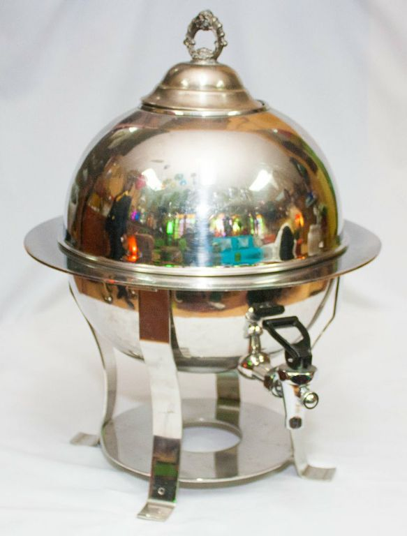 Silver English Tea Urn-0