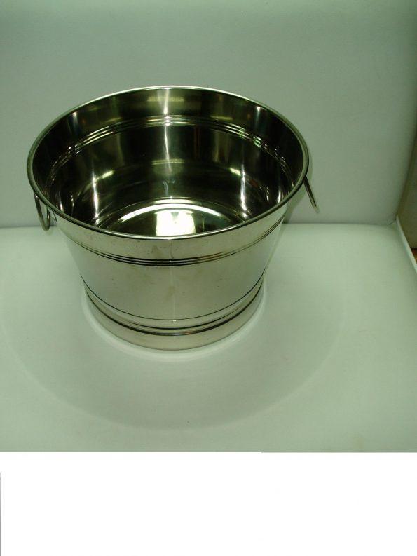 Galvanized Round Pan cold beverage bucket-0