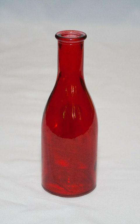 Mini Red Decor Bottle-0