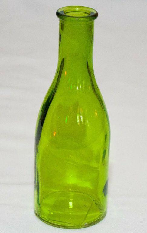 Mini Green Decor Bottle