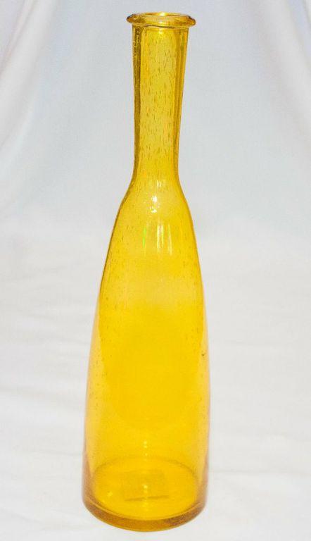 Yellow Decor Bubble Bottle (Large)-0