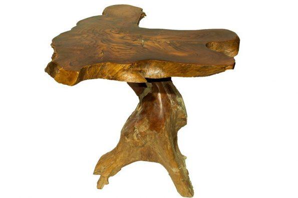 Bali Tree Trunk Side Table