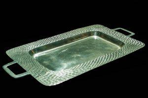 Pewter Rectangular Platter (Large)-0