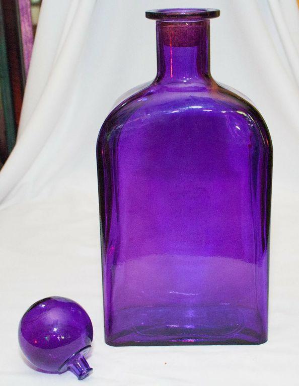 Purple Decor Bottle (Large)-0