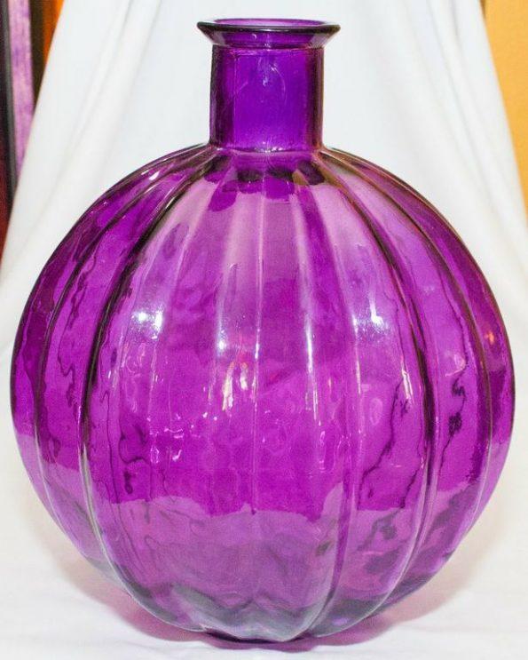 Purple Pumpkin Bottle (Large)-0