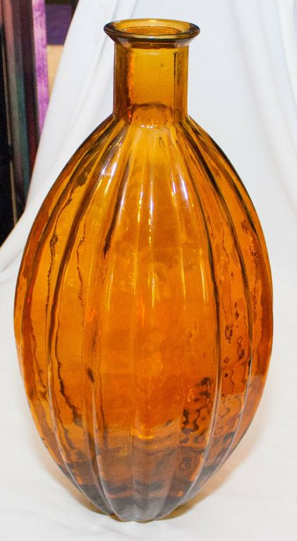 Amber Decor Bottle/Vase (Extra Large) -0