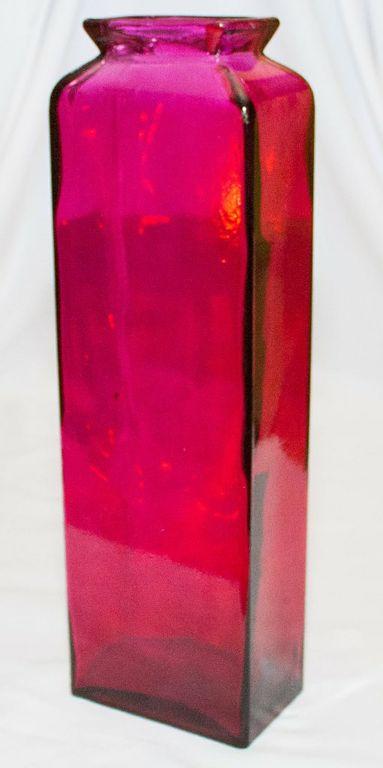 Rectangular Decor Bottle/Vase (Large)-0