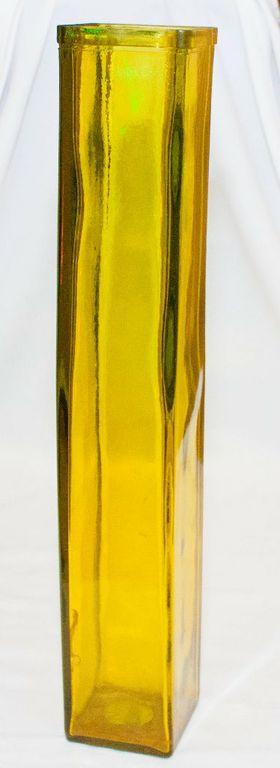 Olive Green Rectangular Vase-0
