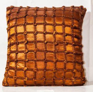 Chocolate Brown Throw Cushion-0