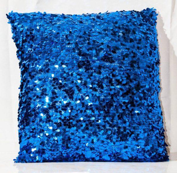 Royal Blue Throw Cushion-0
