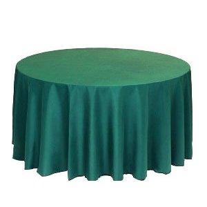 Festive Green Tablecloth