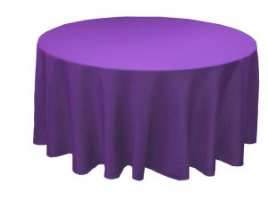 Purple 8 & 10 Seater Tablecloth (Available in 4 & 6)-0