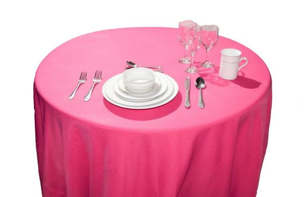 Hot Pink Tablecloth