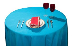 Turquoise 8 & 10 Seater Tablecloth (Available in 4 & 6)-0
