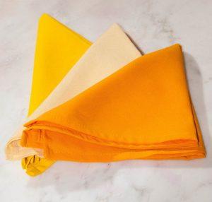 Shades Of Yellow Cloth Napkins-0