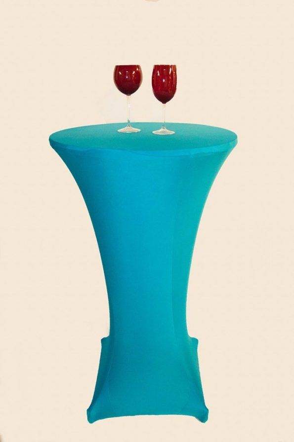 Turquoise Blue Strech Bistro Covers