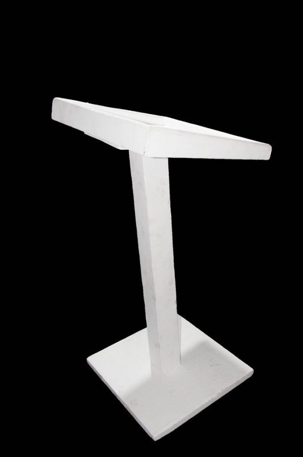 White Podium (Small)-0
