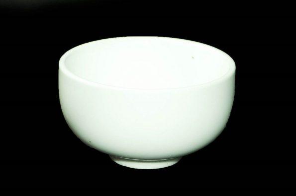 Ceramic White Salad Bowl (Large)-0