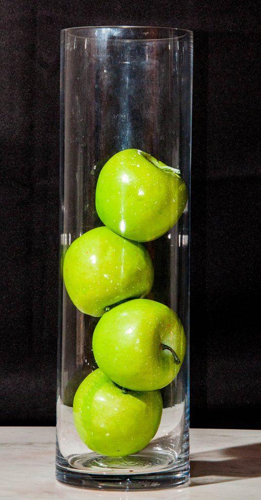 15 Inch Clear Cylindrical Vase (Medium)-0