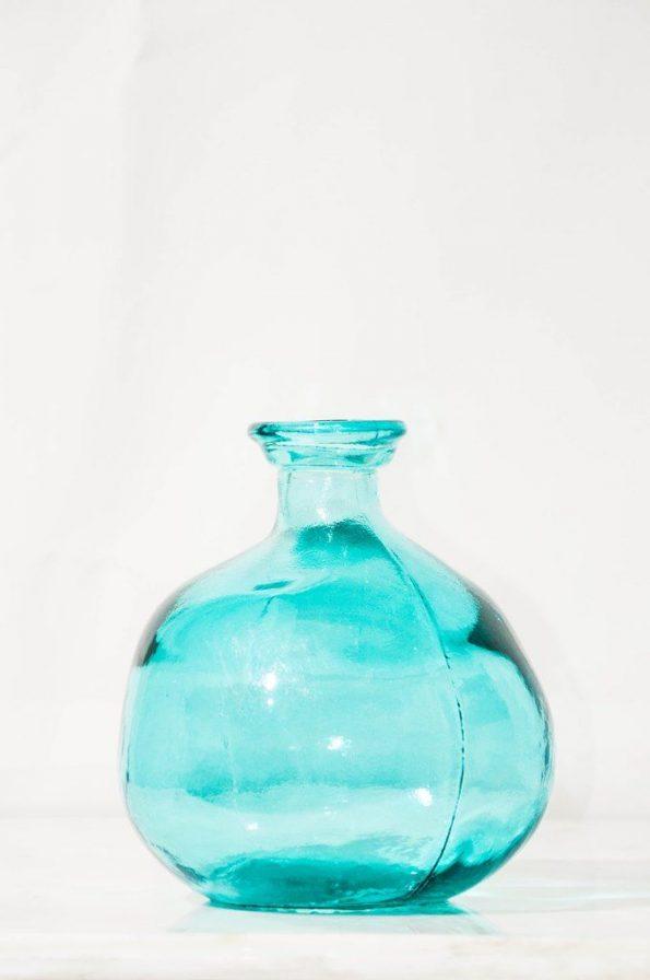 Genie Blue Bottle/Vase Small