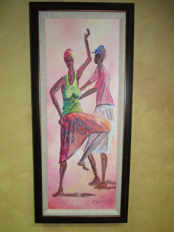 Dancing Ladies Painting-0