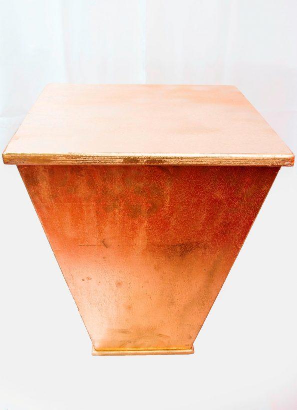 Pymarid Gold Side Table