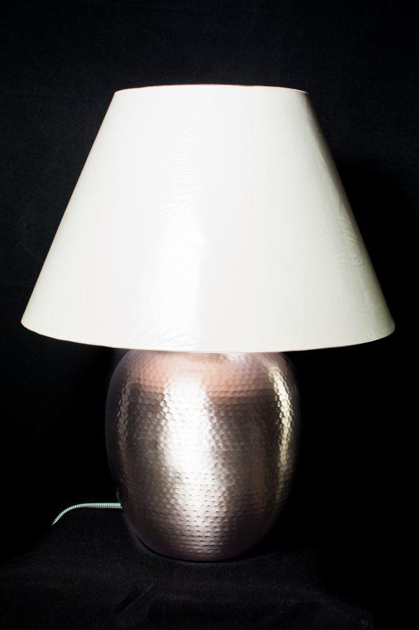 Ikea Silver Base Side Table Lamp-0