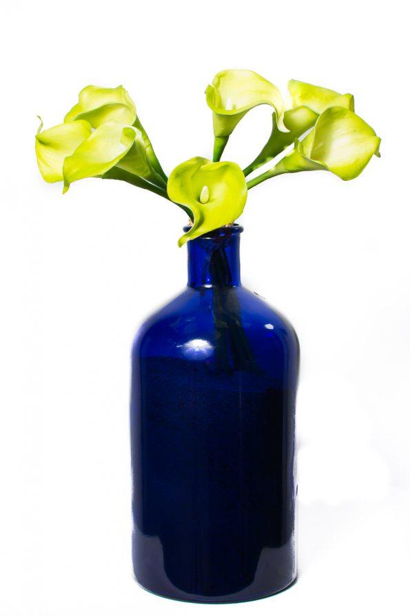 Green Calla Lillies Floral Arrangement-0