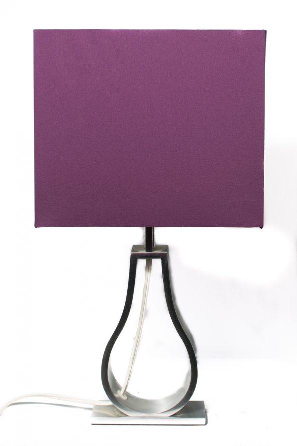Ikea Purple Side Table Lamp-0