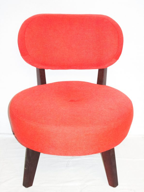 Miami Hot Spot Orange Padded Chair-0