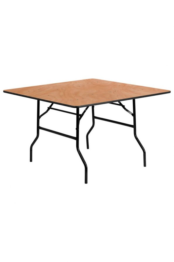 Wooden - Square Table (4Ft x 4 Ft. )