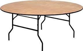 Wooden - Round Table