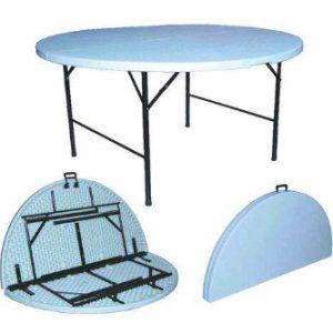 Folding Plastic - Round Table