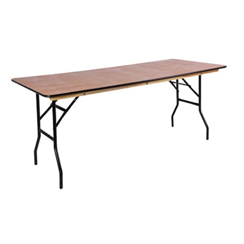 6ft Wooden Table