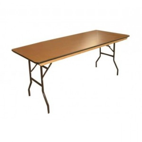 8ft Wooden Table
