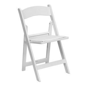 White - Wooden Chair