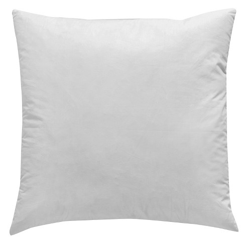 White Throw Cushion