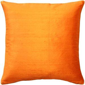 Orange  Throw Cushion