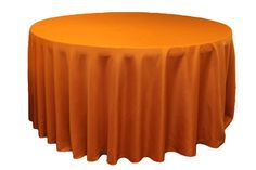 Burnt Orange Tablecloth