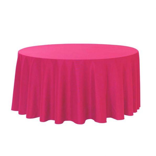 Fuschia Tablecloth