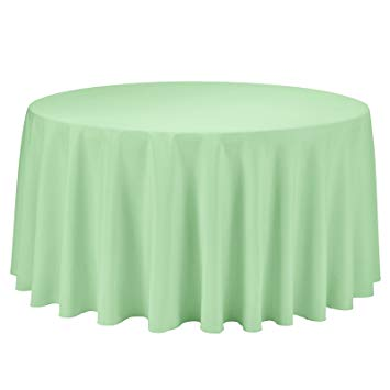 Mint Green Tablecloth