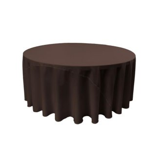 Chocolate Brown Tablecloth