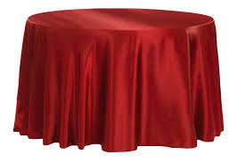 Red - Satin Tablecloth