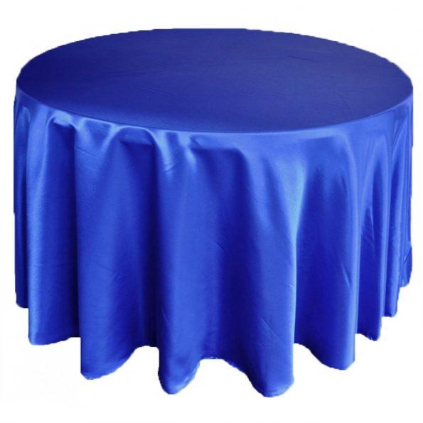 Royal Blue - Satin Tablecloth