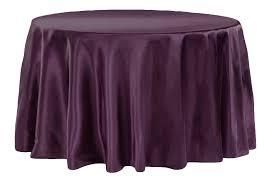 Plum - Satin Tablecloth