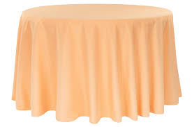 Peach Tablecloth