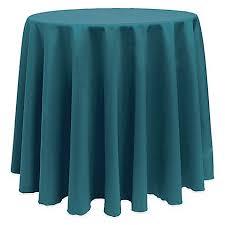 Teal Tablecloth